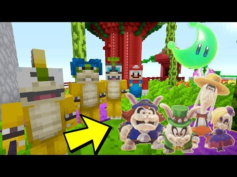 Minecraft Switch - Super Mario Series - BROODALS VS KOOPALINGS BATTLE [FIGHT] [339]