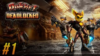 "Ratchet: Deadlocked / Gladiator (PS3 HD) - Episode 1 ""Captured"" (Platinum Trophy Guide)"