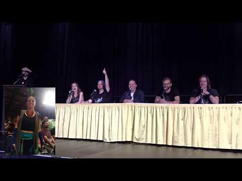 Talks Machina panel with Brian, Marisha, Taliesin, Sam, Liam & Matt @ GenCon, IN [Spoilers C2E29]