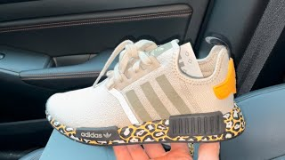 Adidas NMD R1 Bliss Leopard shoes - YouTube