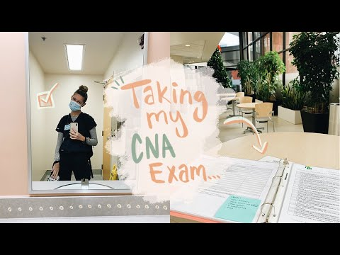 Come along with me as I take my CNA exam + my *real* experience...