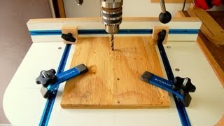 Drill Press Table - How to Make - Woodworking Video Tutorial