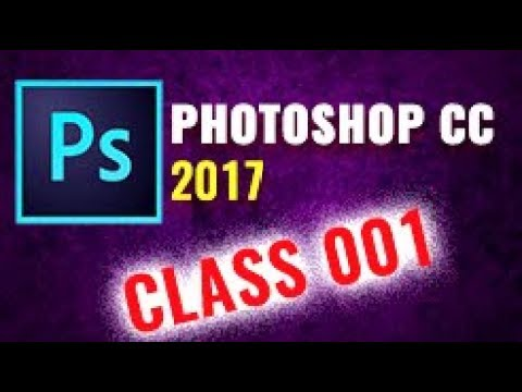 Adobe Photoshop Tutorial CC 2017 FOR BEGINNERS | GETTING STARTED | BASIC...   part 1 thumbnail