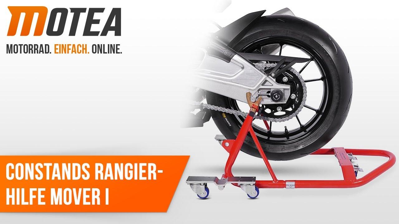 Rangierhilfe Montageständer Honda CB 650 F ConStands Mover I Rot