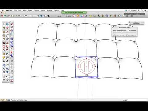 Download How Make Round Wrinkled Cushion With Sketchup MP3