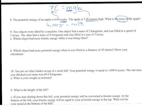 """furthermore Potential And Ki ic Energy Worksheet 8th Grade besides Gravitational Potential Energy Worksheet Potential Vs Ki ic Energy besides Potential To Ki ic Energy Ki ic Energy Worksheet Potential further Ki ic Energy Vs Potential Math Potential Vs Ki ic Energy further Potential Ki ic Energy Worksheet further  additionally Ki ic and potential energy worksheet   YouTube in addition Free potential and ki ic energy worksheets together with Potential and Ki ic Energy Worksheet   Homedressage in addition Potential And Ki ic Energy Worksheet Grade Anchor Chart furthermore WORKSHEET  KI IC AND POTENTIAL ENERGY PROBLEMS   PDF furthermore Ki ic And Potential Energy Worksheet Answers Inspirational Ki ic also Ki ic And Potential Energy Worksheet Pdf   Lobo Black together with Science Explorer Life Science Worksheets Answers Potential Or further POTENTIAL vs  KI IC ENERGY"""" WORKSHEET by Family 2 Family Learning. on potential and kinetic energy worksheet"""