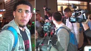 UCLA Basketball Players Detained In China Return Home To Media Chaos