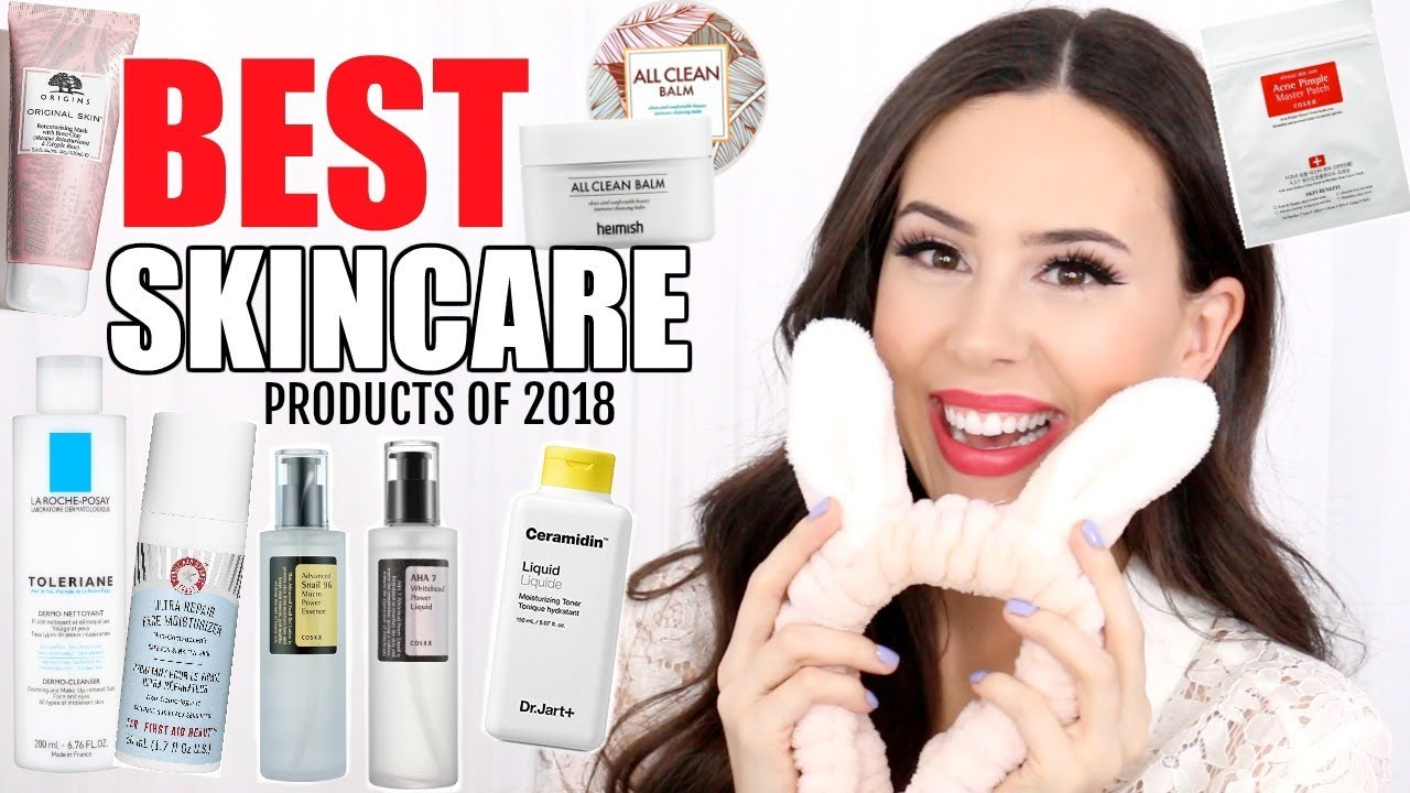 BEST SKINCARE OF 2018 || Favorite Korean, Sephora & French Pharmacy  Products!