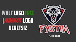 Wolf Free Logo | Ücretsiz Logo Psd Formatında