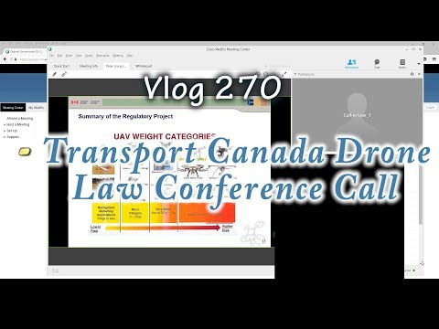 Transport Canada Drone Law Conference Call For Recreational Flyers 2017 Vancouver With Some Errors