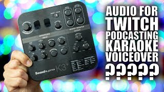 Creative K3+ USB Audio Interface: Podcasting, Game Streaming, Karaoke? Sure. All That.