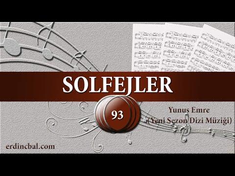 Yunus Emre (Yeni Sezon Dizi Müziği) - Ney Dersleri & Solfej