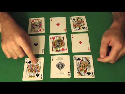 Фокусы с картами - Фокус через экран  - Kaminskiy Vadim