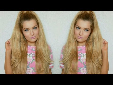 How To Ariana Grande hairstyle with luxury for princess