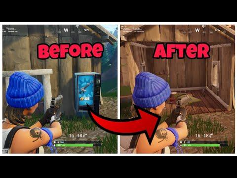 Destroy Any Vending Machine In Fortnite (New) Fortnite Glitches Season 6 PS4/Xbox One 2018