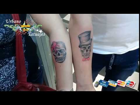 Urbano Tatuajes Calaveras Para Parejas Youtube