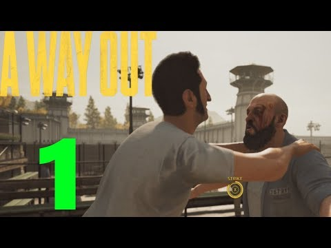 [1] Prison yard Fight! (A Way Out With Ghost)