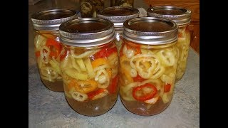 Today i will show you a fast and easy way to pickle peppers. because these pickled peppers have high vinegar ratio in the brine, be shelf stable...