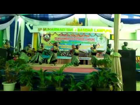 Tari Indang Kelas VI Saad Bin Ubadah SD Muhammadiyah 1 Bandar Lampung