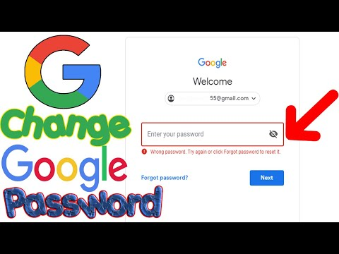 How To Change Google Account Password Without Recover Email Or Phone 2019