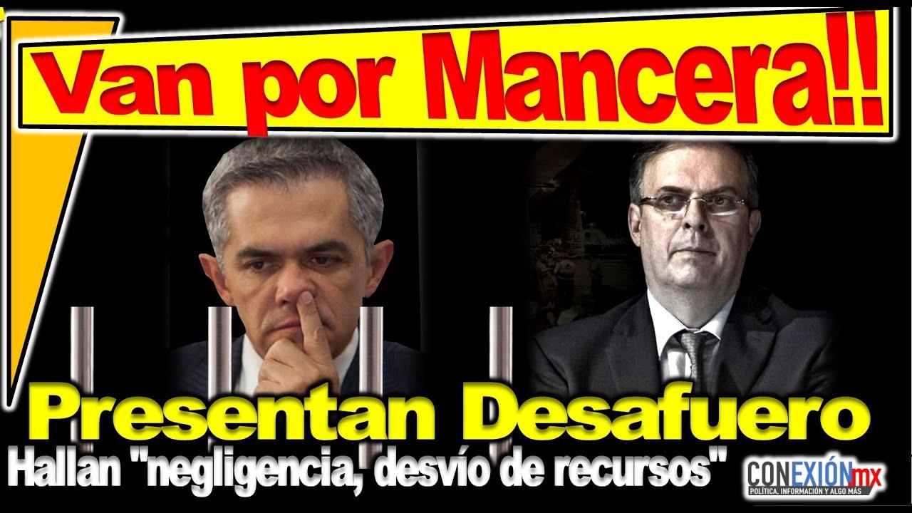 A punto de perder el fuero Mancera!! Señalado ante FGJ por línea 12, exhortan por malversar fondos.