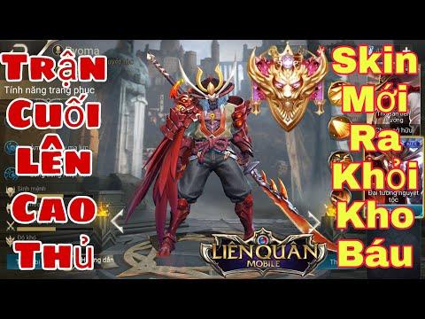 Liên Quân   Skin Ryoma Đại Tướng Nguyệt Tộc Ra Khỏi Kho Báu - Trận Cuối Lên Cao Thủ Hủy Diệt Địch