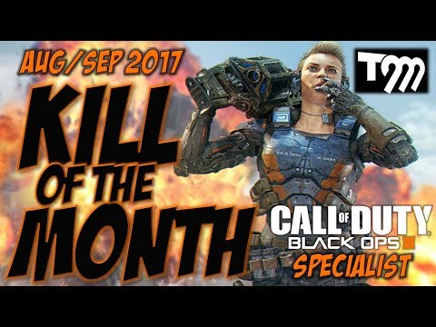 Black Ops 3 - SPECIALIST KILL OF THE MONTH - AUG/SEP 2017