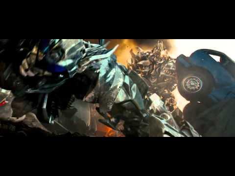 Transformers (2007) Jazz Vs Megatron (HD Latino)