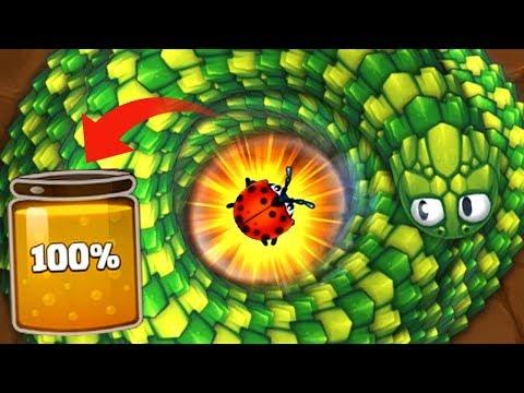Littlebigsnake.io Fastest Way to Get 100% Nectar in JuJa Epic Little Big Snake io Gameplay!