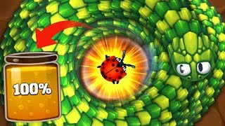 Littlebigsnake.io Fastest Way to Get 100% Nectar in JuJa Epic Little Big Snake io Gameplay!