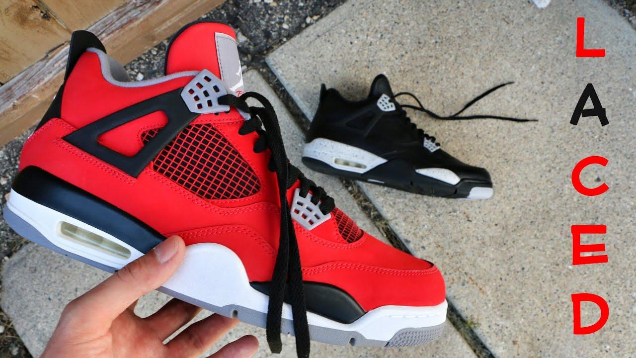 How I Lace My Air Jordan 4
