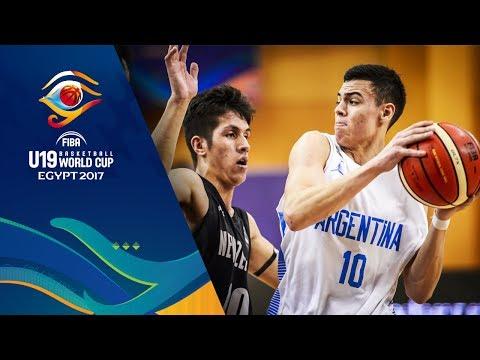 Argentina v New Zealand - Full Game - FIBA U19 Basketball World Cup 2017