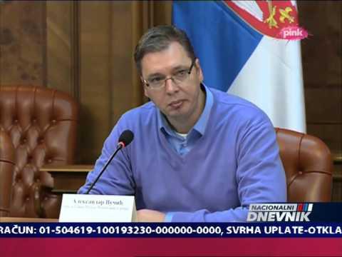 Aleksandar Vucic - Tisina tamo!