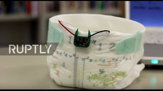 Japan: 'Smart Diaper' hoping to make a splash in the 'wireless urinary incontinence' market