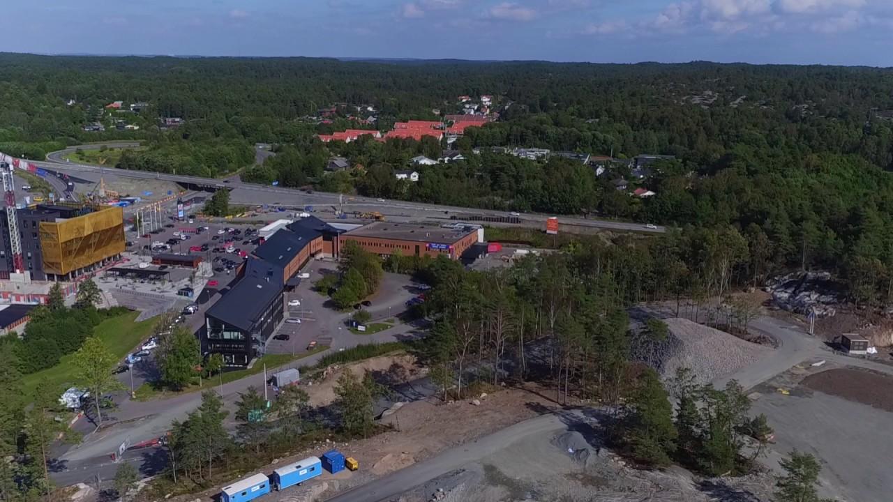 Flygning över Nya Hovås
