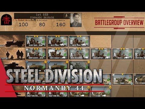 1st SSB (Commando Brigade) - Steel Division: Normandy 44 Battlegroup Overview #21