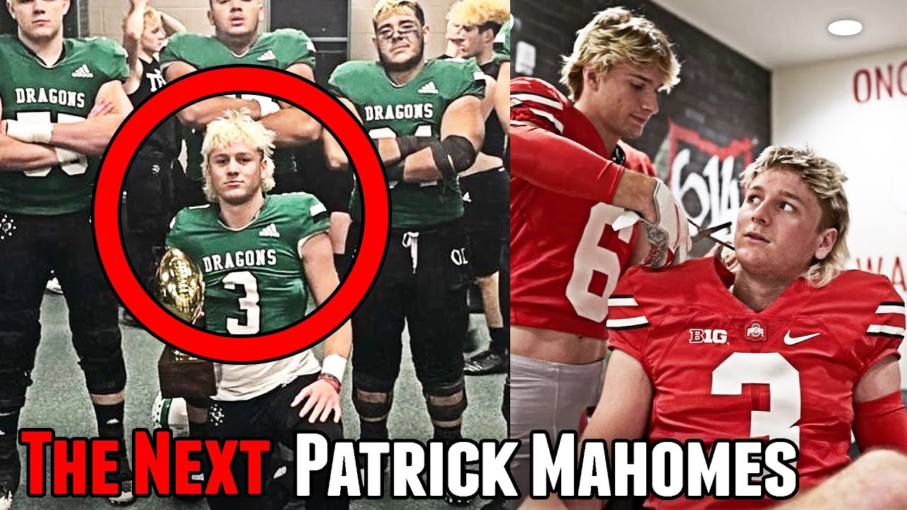 He Can Throw The Football 70 YARDS... The Next Patrick Mahomes
