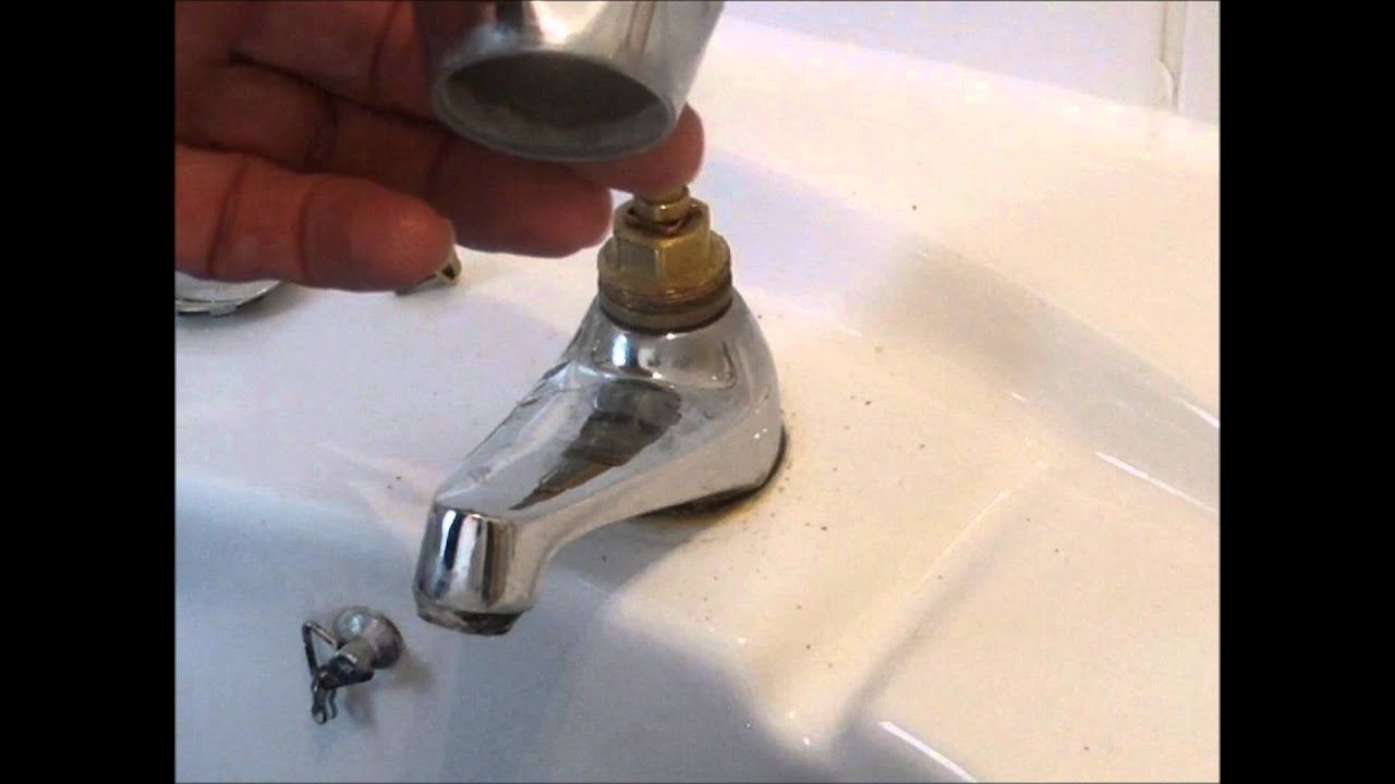 Changing A Tap Washer Youtube
