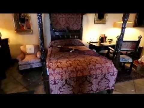 "#391 (9/1/2017) Inside HEARST CASTLE'S ""SECRET PRIVATE BEDROOMS"""