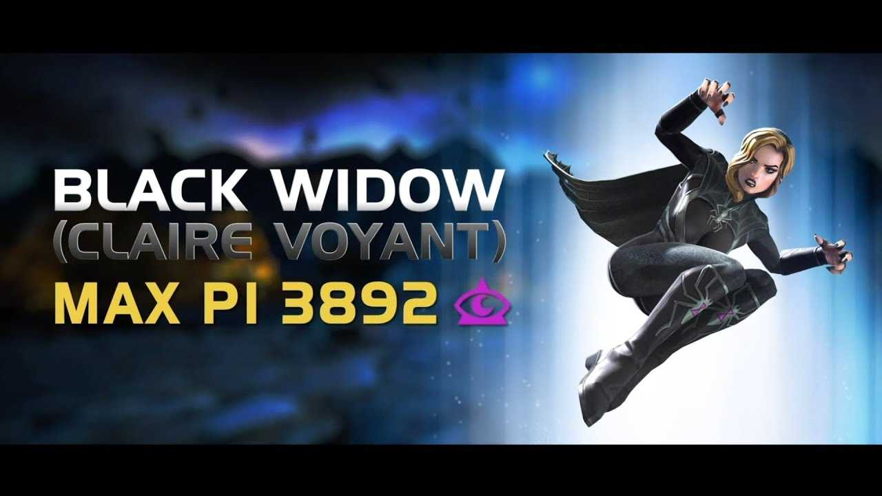 Champion Spotlight Black Widow Claire Voyant Marvel