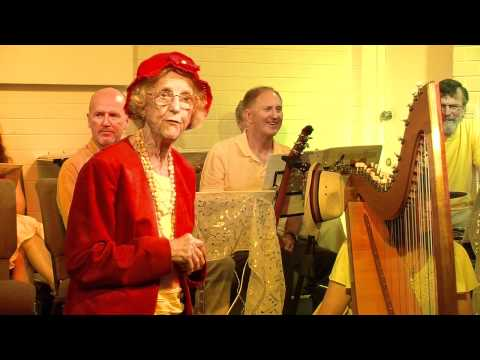 I took my harp to a party (Loosely Woven)