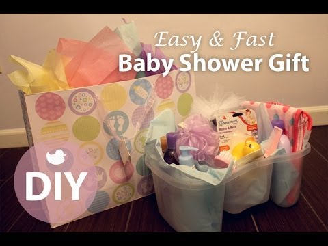 Diy easy fast baby shower gift for both boys girls for Easy diy gifts for boys