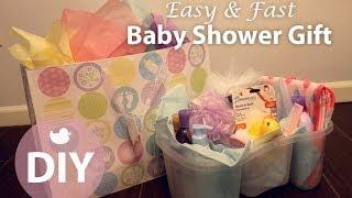 DIY Easy & Fast Baby Shower Gift (For both Boys + Girls!) | ArtsyPaints