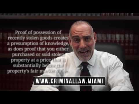 (161) What is Fencing / Dealing in Stolen Property in FL? Michael Haber Miami Criminal Lawyer