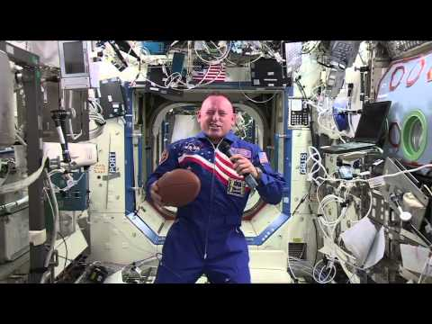 ISS Astronaut talks Space and Sports