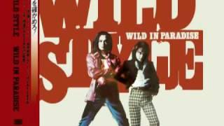 WILD STYLE 「とまどいを断ち切って」とカップリングの「PARADISE 」2曲.