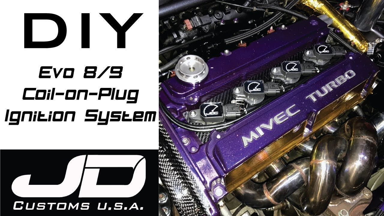 Evo 4-9 DIY Coil-on-Plug Assembly Instructions – JD Customs