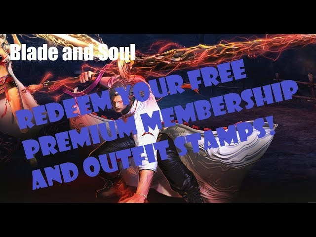 [Blade and Soul] How to Redeem your Wandering Swordsman Pack and Free Outfit Stamps!
