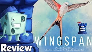 Wingspan Review - with Tom Vasel