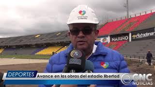 Download CNC Noticias Pasto - Avances en las obras del Estadio Libertad Mp3